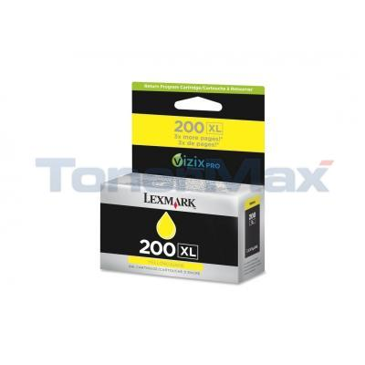 LEXMARK NO 200XL RP INK CARTRIDGE YELLOW HY